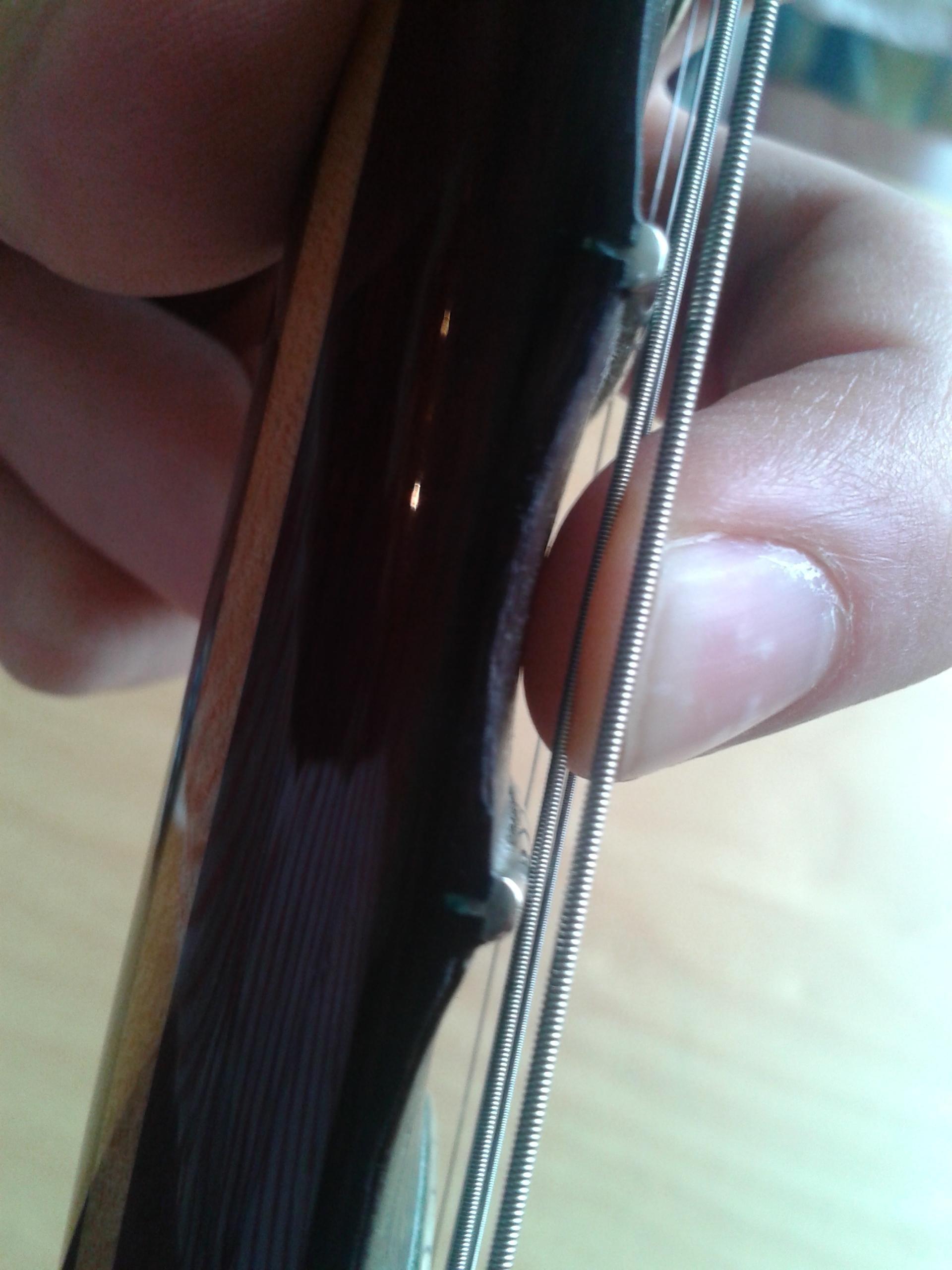 Scalloped Fingerboard Bend